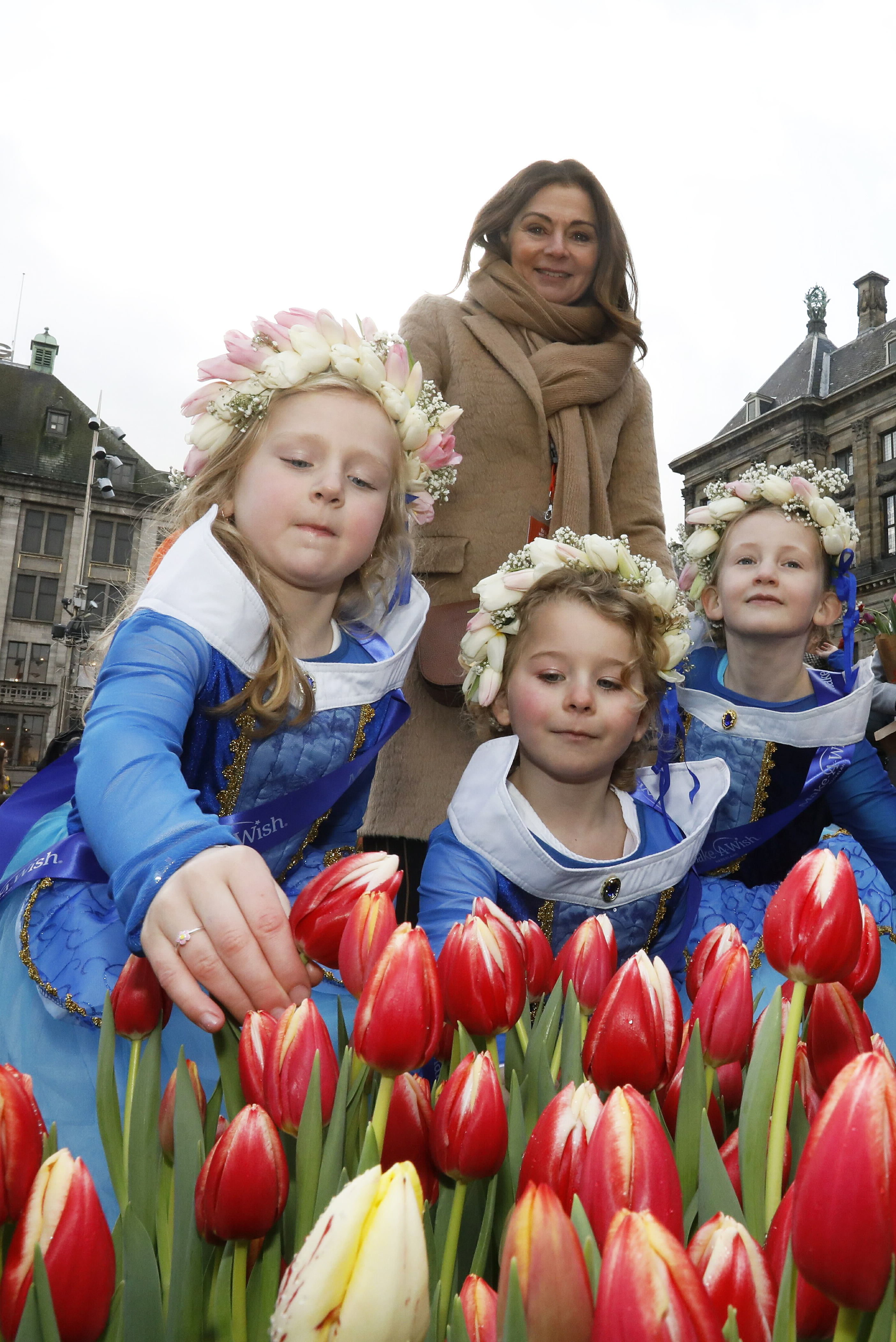 Nationale Tulpendag Make-a-wish
