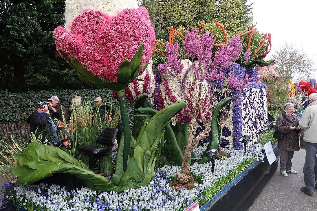 Bloemencorso Bollenstreek derde prijs
