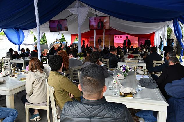 Openign van Zanten Colombia