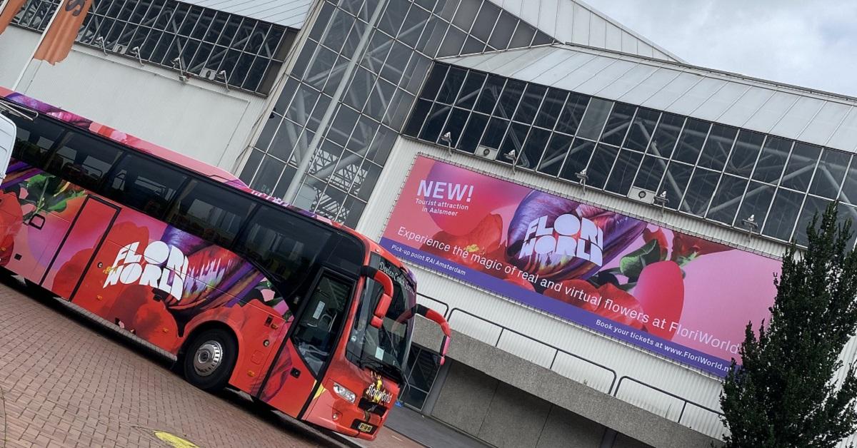 Foto van Floriworld Bus
