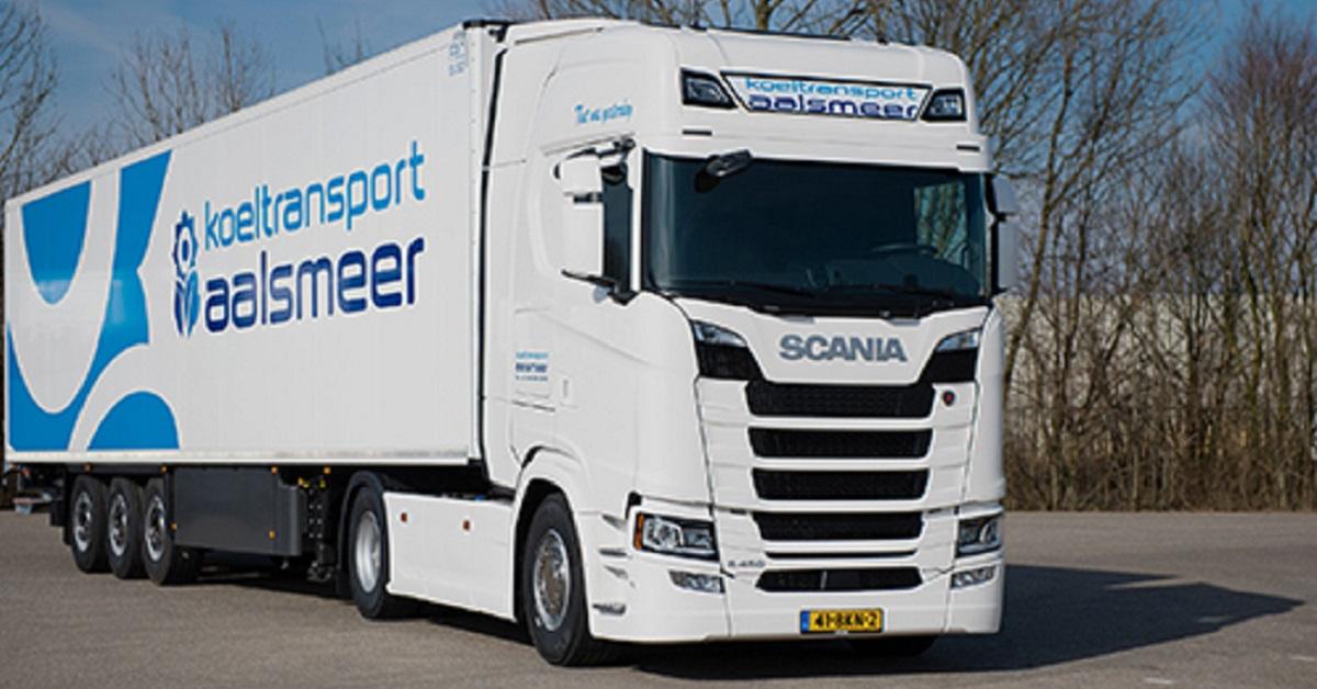 Koeltransport Aalsmeer Bemmel Scania