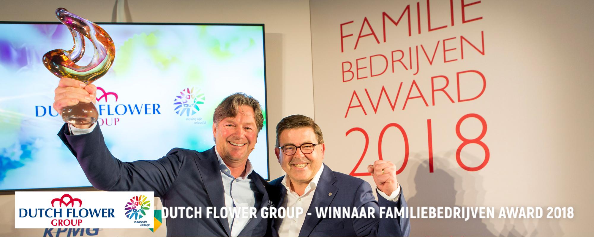 Familiebedrijf van het jaar 2018 Dutch Flower Group